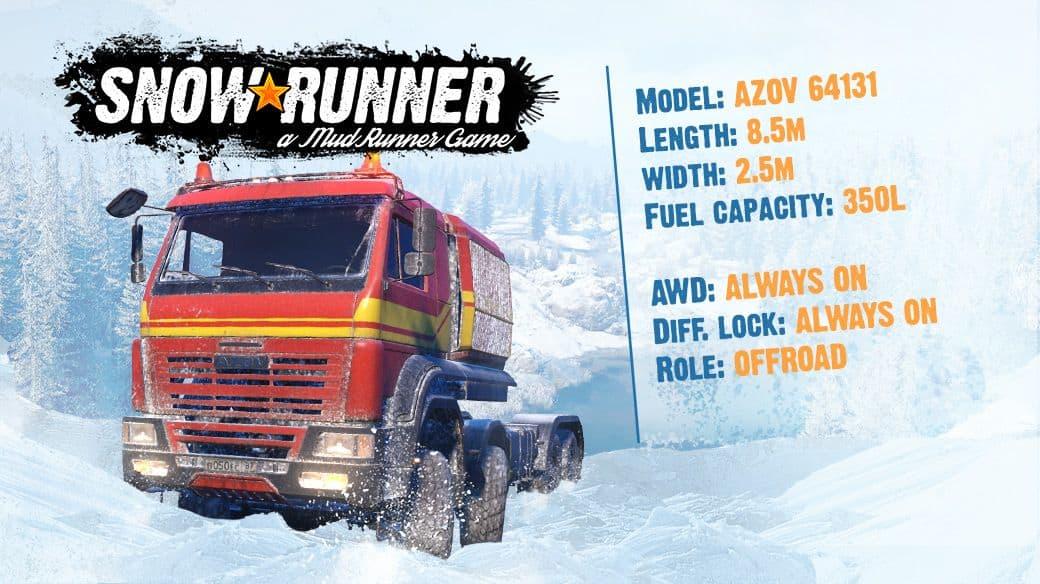 Azov 64131 - SnowRunner