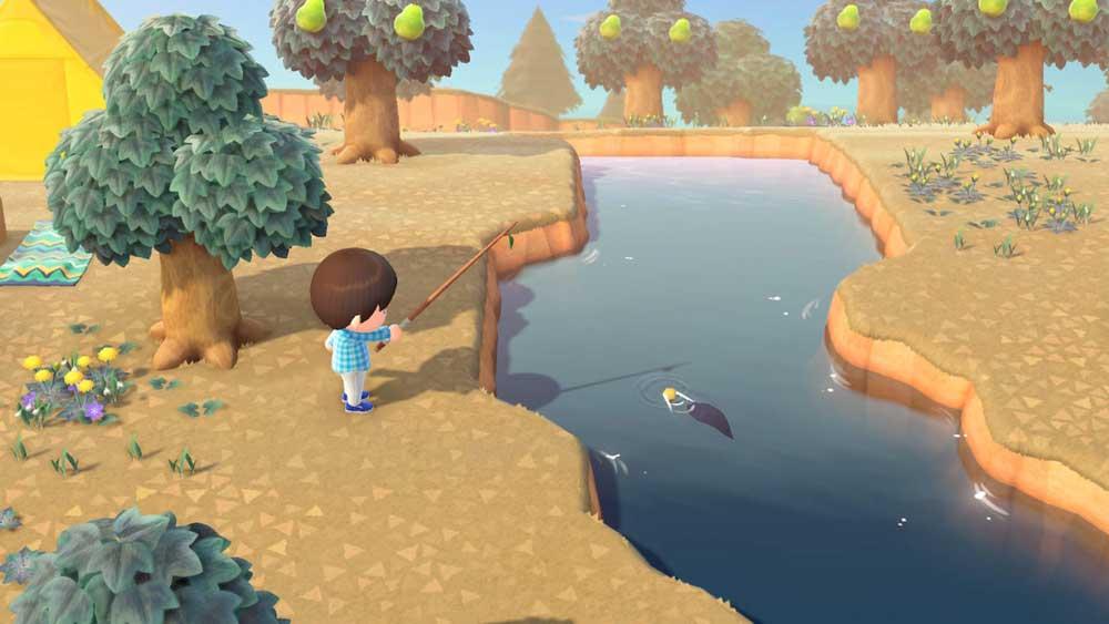 Cómo atrapar Rainbowfish en Animal Crossing New Horizons