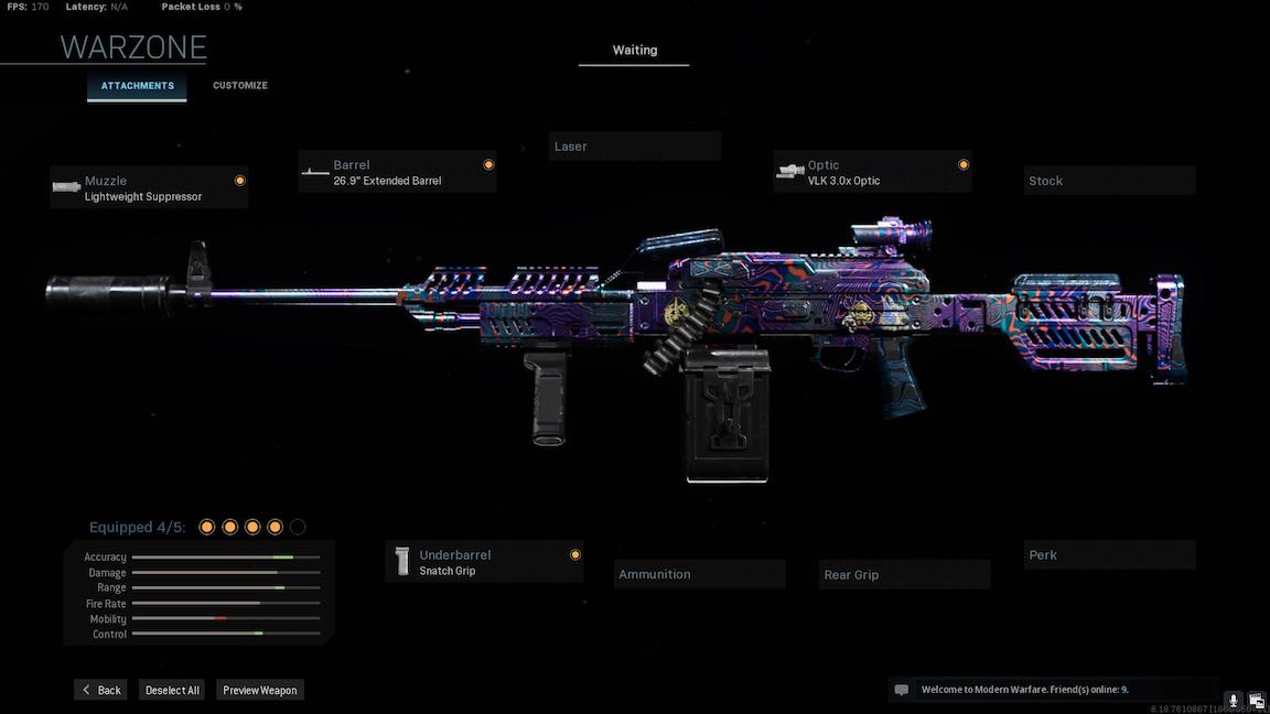 Best Loadout for PKM in Call of Duty Warzone