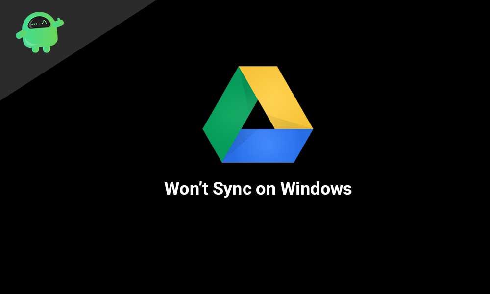 Cómo resolver Google Drive no se sincronizará en Windows 10