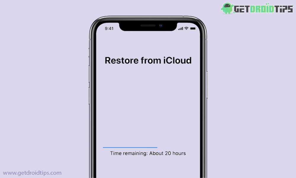 Cómo arreglar la restauración de iPhone desde la restauración de copia de seguridad de iTunes que lleva mucho tiempo