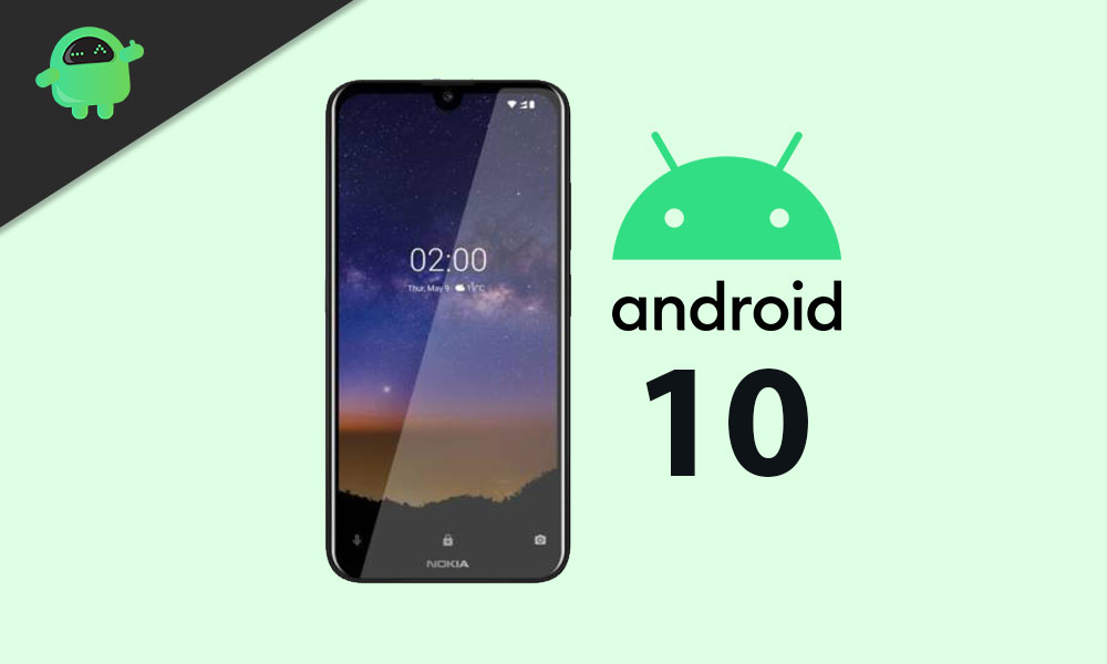Nokia 2.2 Android 10 actualización comenzó a rodar