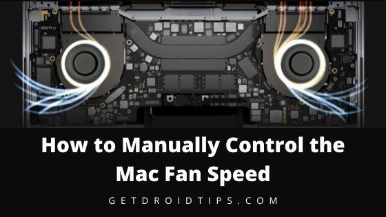 Cómo controlar manualmente la velocidad del ventilador de Mac