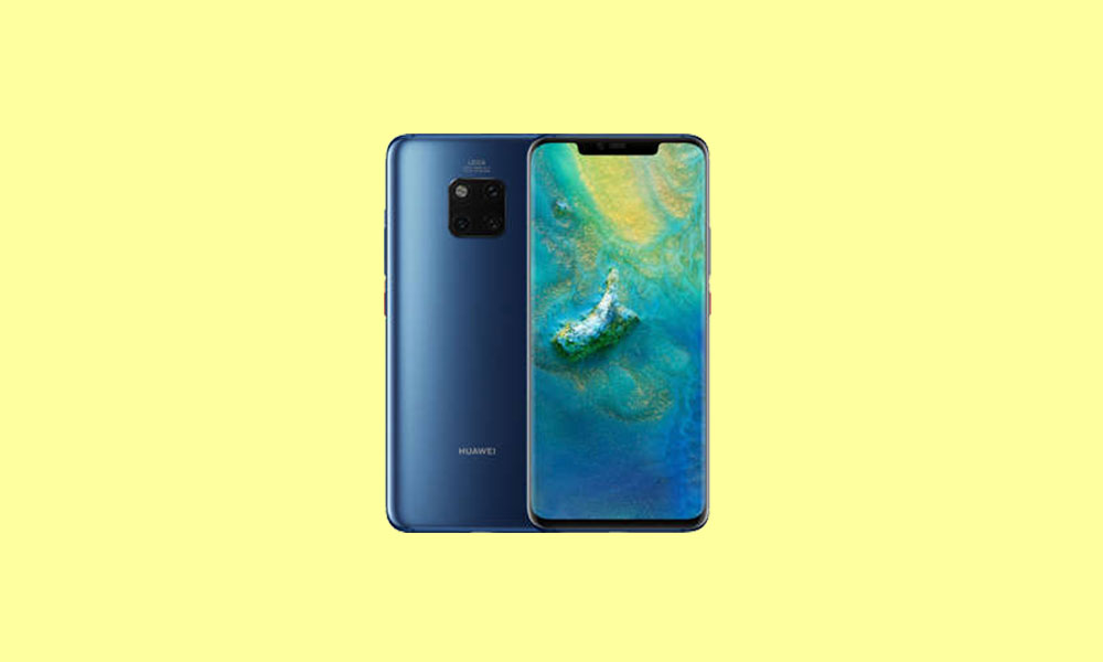 Download Huawei Mate 20 Pro EMUI 9.1 with July 2019 Patch based on Android Pie