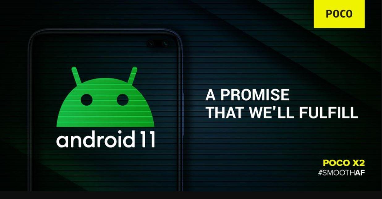 Línea de tiempo de actualización de Poco X2 Android 11 (Android R) - Fecha de lanzamiento