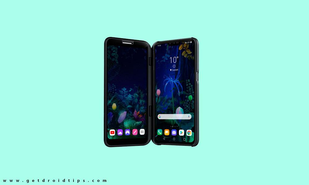 LG V50 ThinQ Android 10 Update ahora en vivo: Sprint US recibe con V450P20a