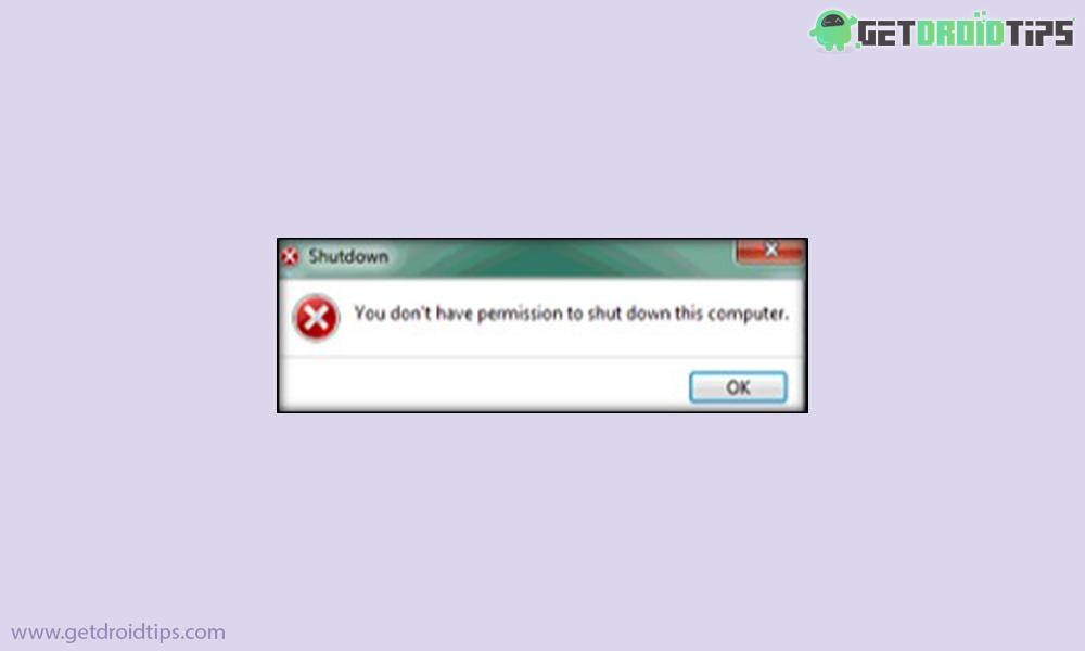Cómo arreglar No se puede apagar o reiniciar el error del sistema de Windows 7