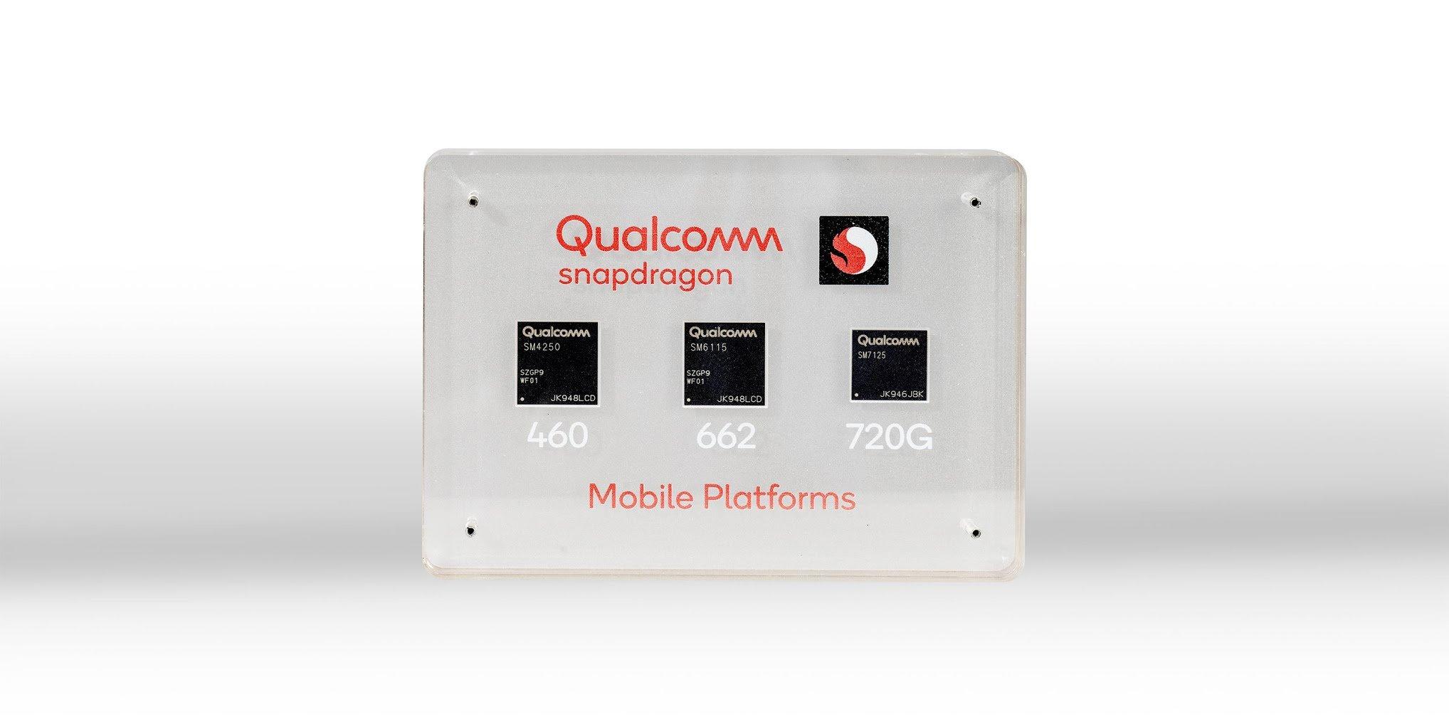 ¡Qualcomm Snapdragon 720G, 662 y 460 están aquí!