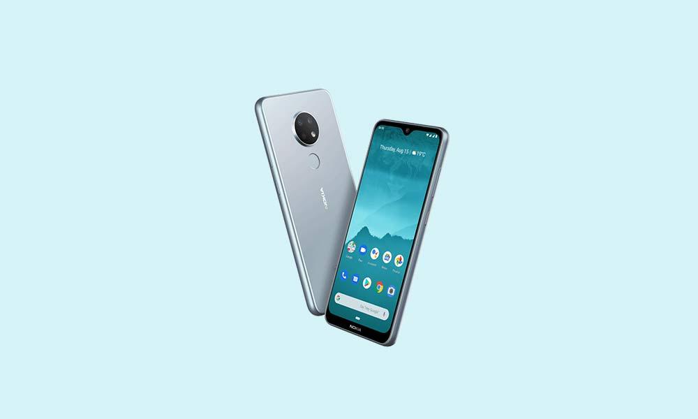 Descargue el parche de seguridad Nokia 6.2 y 7.2 de enero de 2020: V1.170 / V1.39A