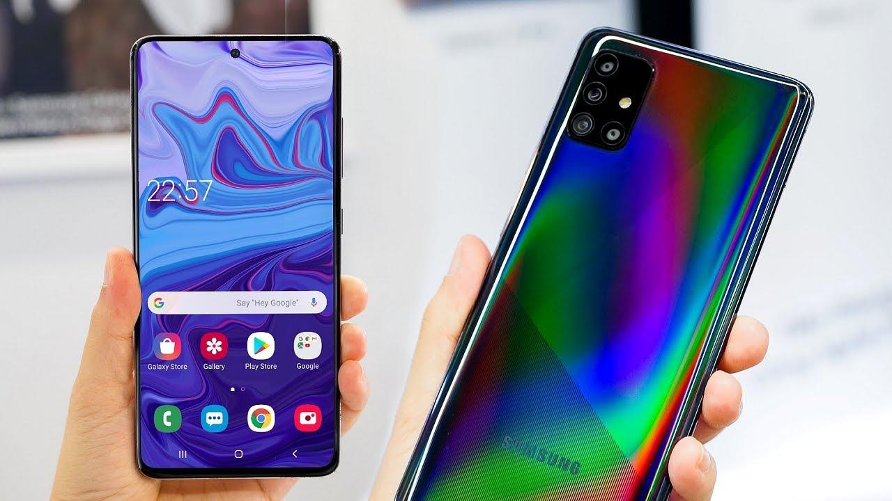 Samsung Galaxy A51 y A71 se lanzarán pronto en India