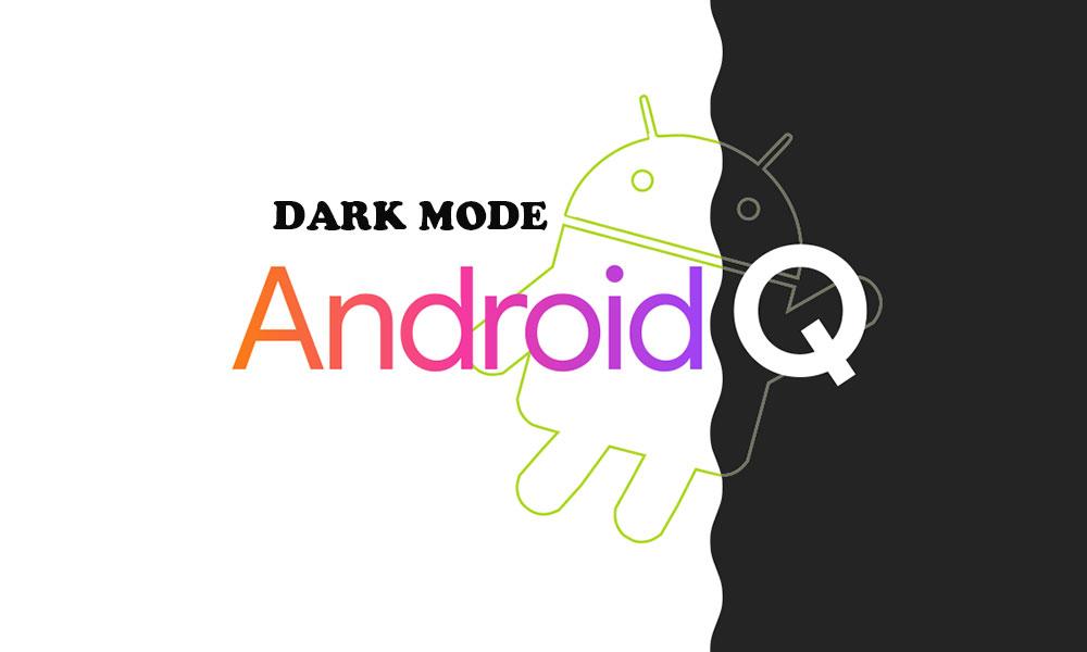 Cómo habilitar el modo oscuro en todas las aplicaciones en Android 10