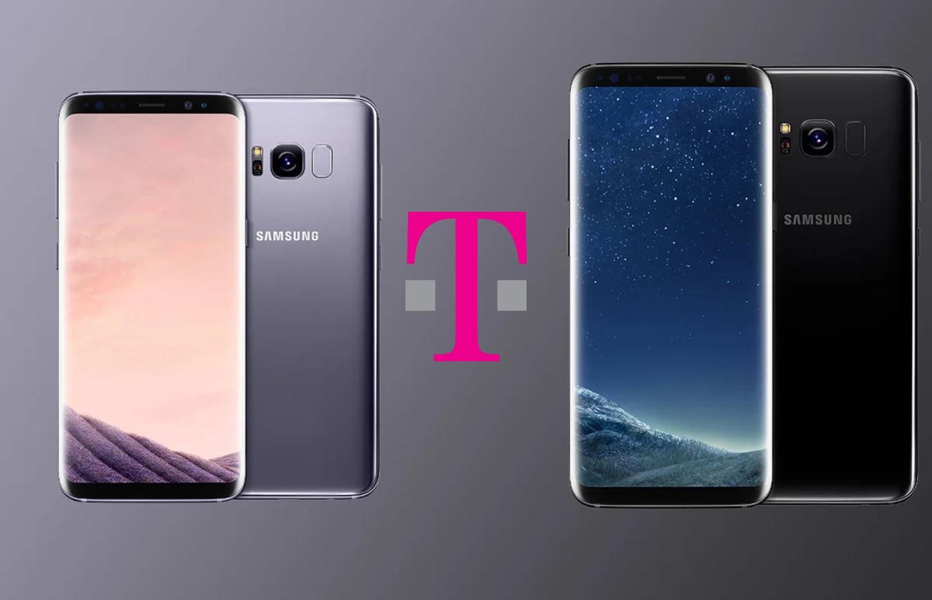 T-Mobile Galaxy S8 / S8 + Parche de seguridad de octubre de 2019: G950USQU6DSJ3 / G955USQU6DSJ3