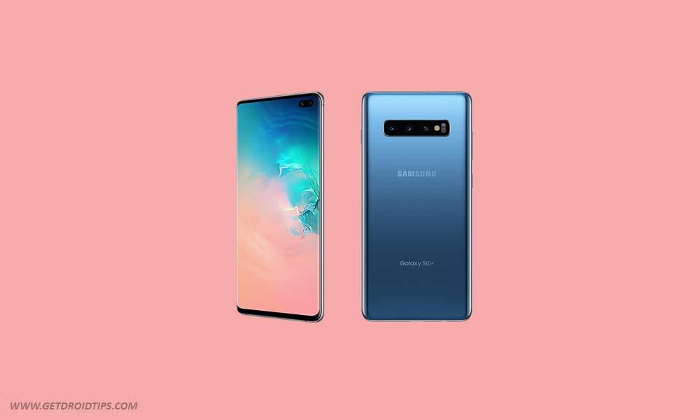 Parche AT&T Galaxy S10 de octubre de 2019: G970USQS2BSIP, G973USQS2BSIP y G975USQS2BSIP
