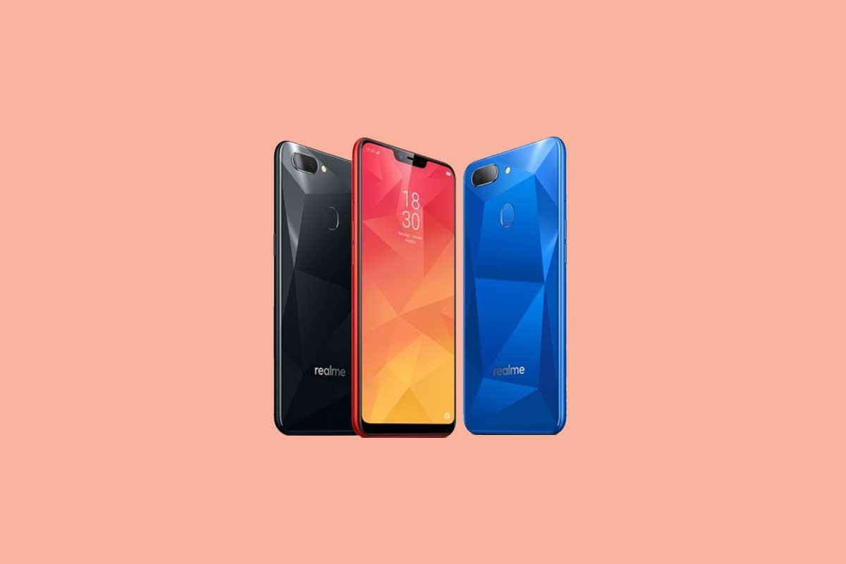 Realme 2 y Realme C1 reciben el parche de seguridad de octubre de 2019: RMX1805EX_11.A.61