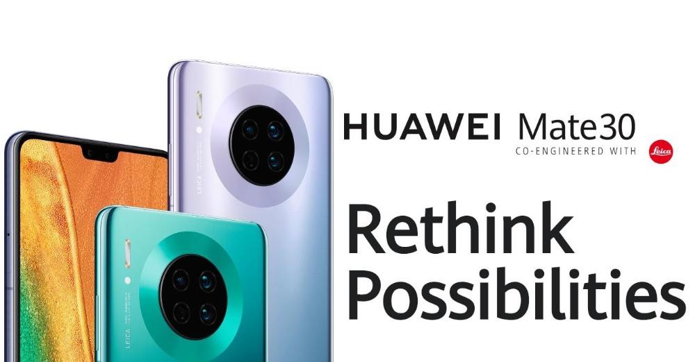 Huawei lanzó Mate 30 y Mate 30 Pro con Kirin 990 SoC, sin aplicaciones de Google
