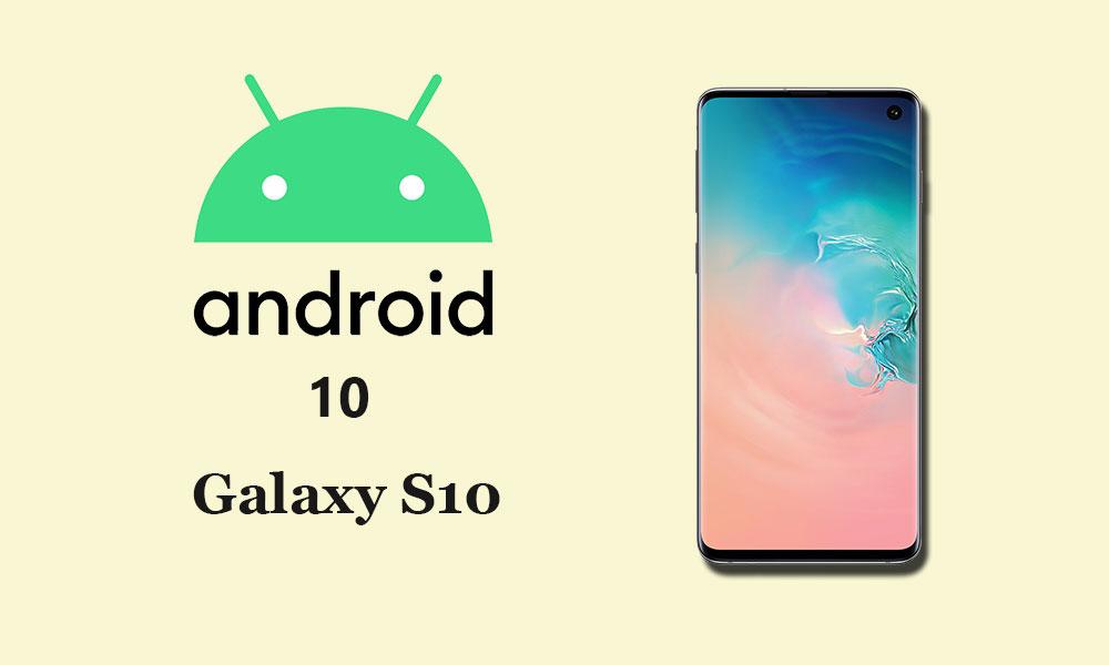Descargue e instale Samsung Galaxy S10 Android 10 con una actualización de UI 2.0