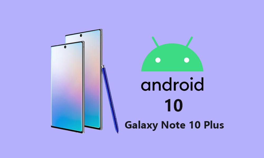 Instale Samsung Galaxy Note 10 Plus Android 10 con la actualización OneUI 2.0