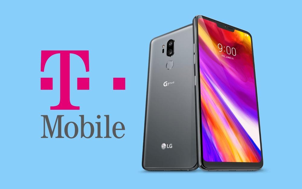 LG lanza actualización de Android Pie para T-Mobile G7 ThinQ