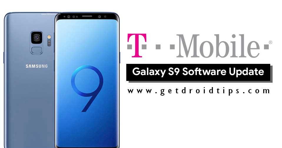 Descargue la actualización de seguridad de T-Mobile Galaxy S9 de junio de 2019: G960USQS5CSEA y G965USQS5CSEA