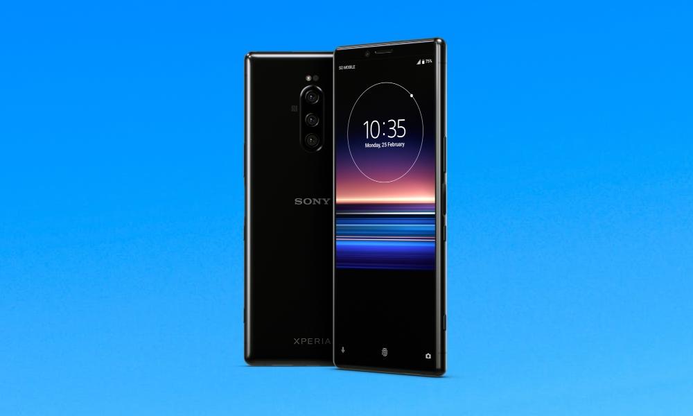 Actualización de software de Sony Xperia 1 con parche de seguridad de marzo de 2020 (55.1.A.3.107)