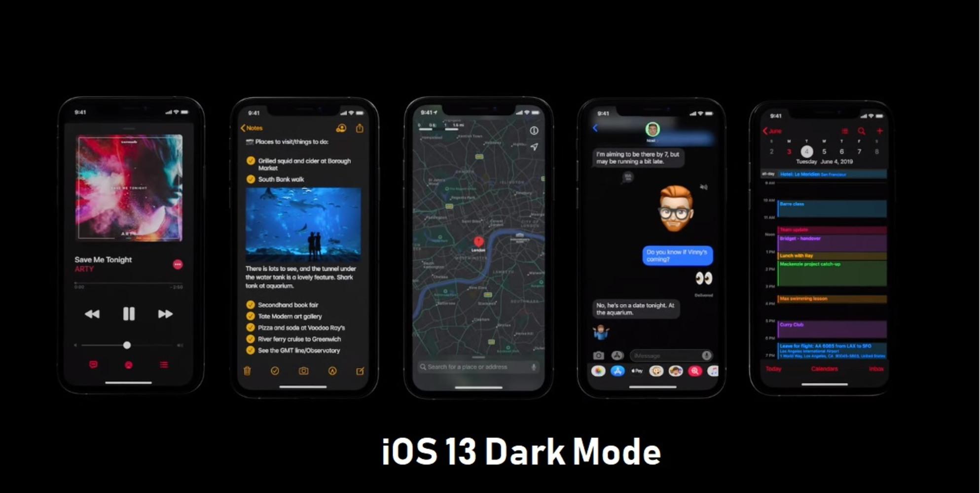Cómo habilitar el modo oscuro en iOS 13 para Apple iPhone