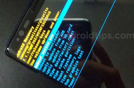 Recuperación de Samsung