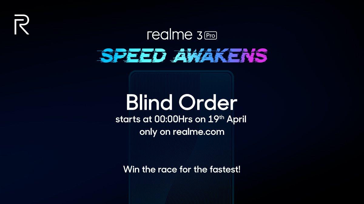 ¡Ahora puede ordenar a ciegas el Realme 3 Pro incluso antes de que se lance!