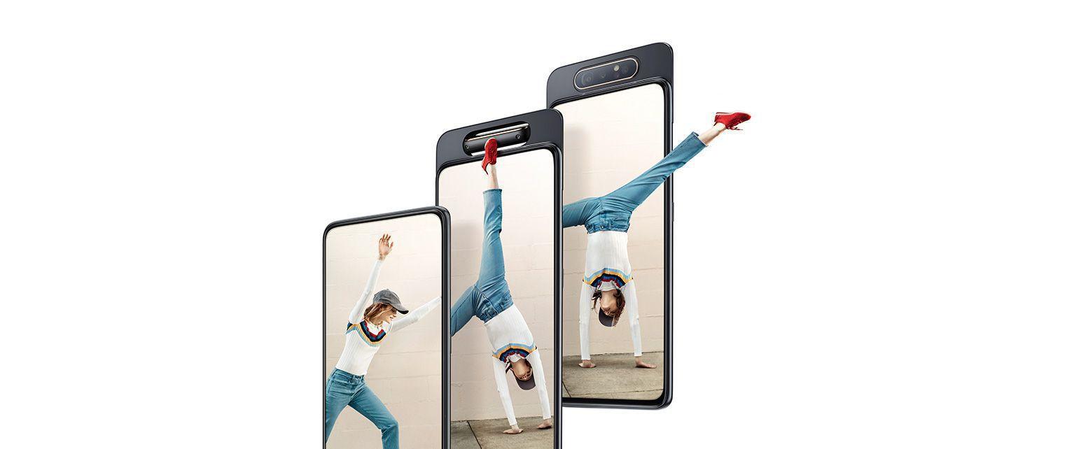 Samsung A80 lanzado en China, todo lo que necesita saber