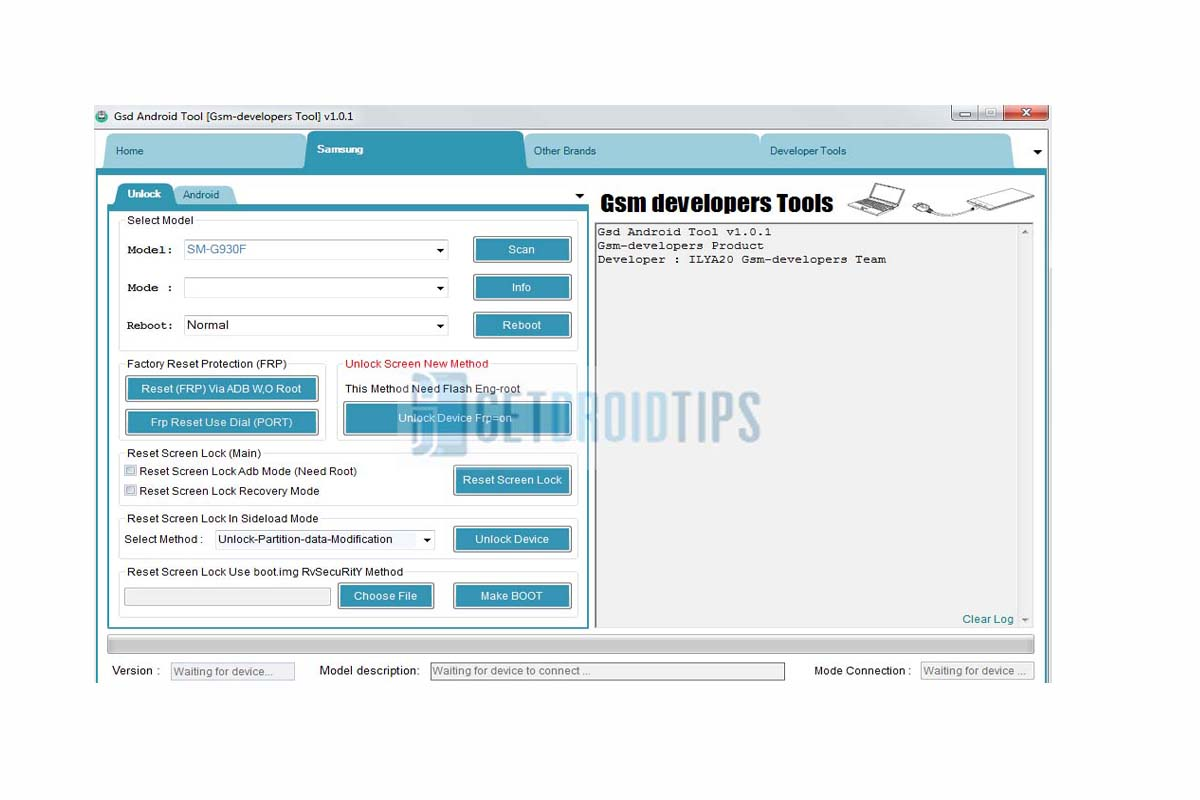 Descargar GSD Android Tool V1.0.1 - Última versión Descargar gratis