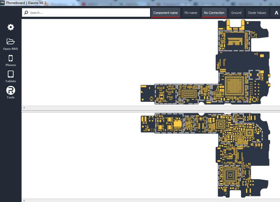 Descargue Phoneboard v1.4.0 para conocer la información completa de la placa del dispositivo