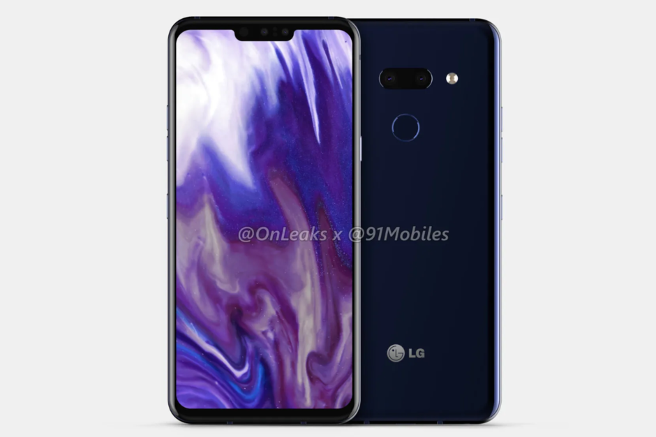 The LG G8 ThinQ is showcasing a very familiar looking flagship design 2