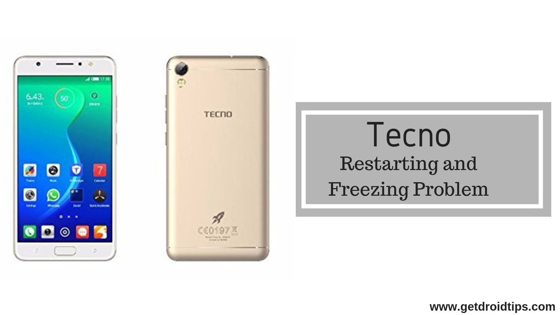 Methods To Fix Tecno Restarting And Freezing Problem