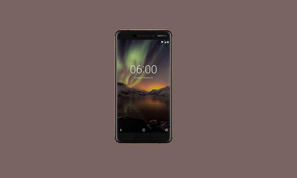 Nokia 6.1 (2018) recibe el parche de diciembre de 2018 y corrige VoLTE