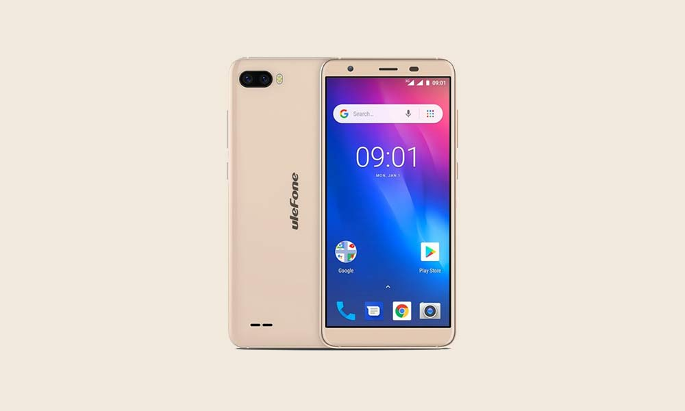 ByPass FRP lock or Remove Google Account on Ulefone S1