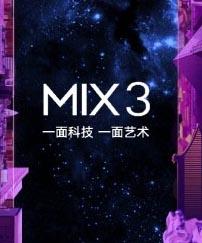 Se filtraron las especificaciones de Xiaomi Mi Mix 3, viene con soporte SD 855 y 5G