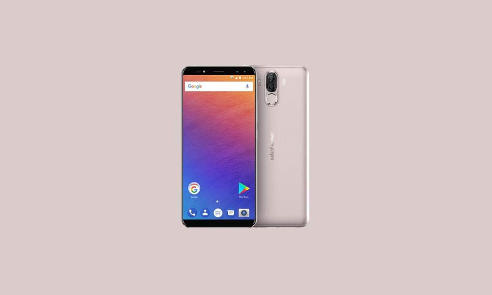 ByPass FRP lock or Remove Google Account on Ulefone Power 3