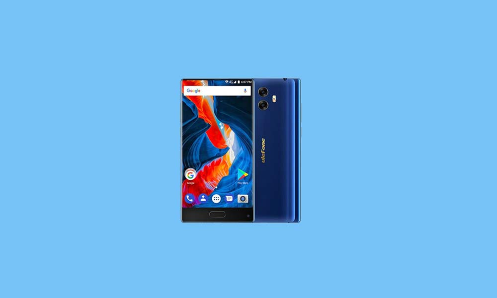 ByPass FRP lock or Remove Google Account on Ulefone Mix S