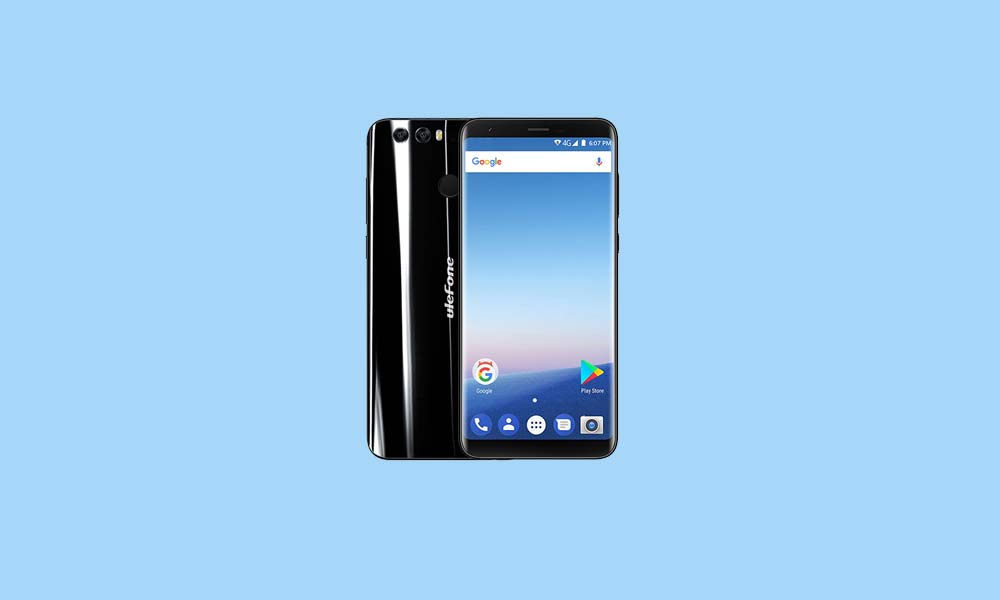 ByPass FRP lock or Remove Google Account on Ulefone Mix 2