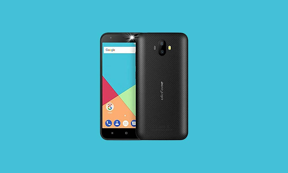 ByPass FRP lock or Remove Google Account on Ulefone S7