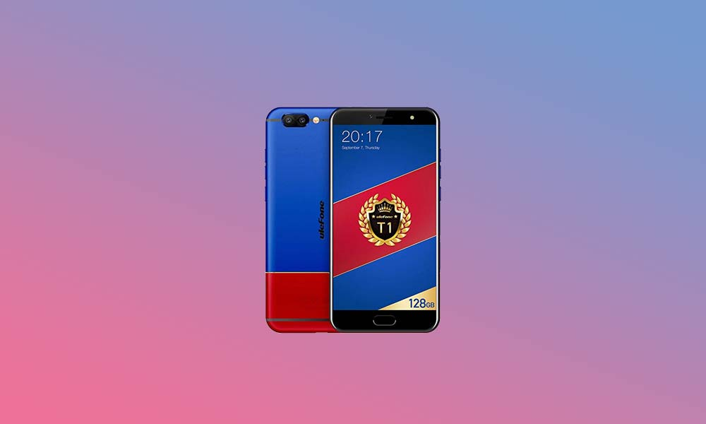 ByPass FRP lock or Remove Google Account on Ulefone T1
