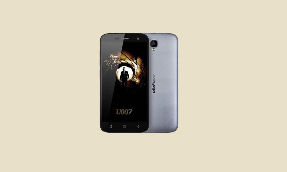 ByPass FRP lock or Remove Google Account on Ulefone U007 Pro