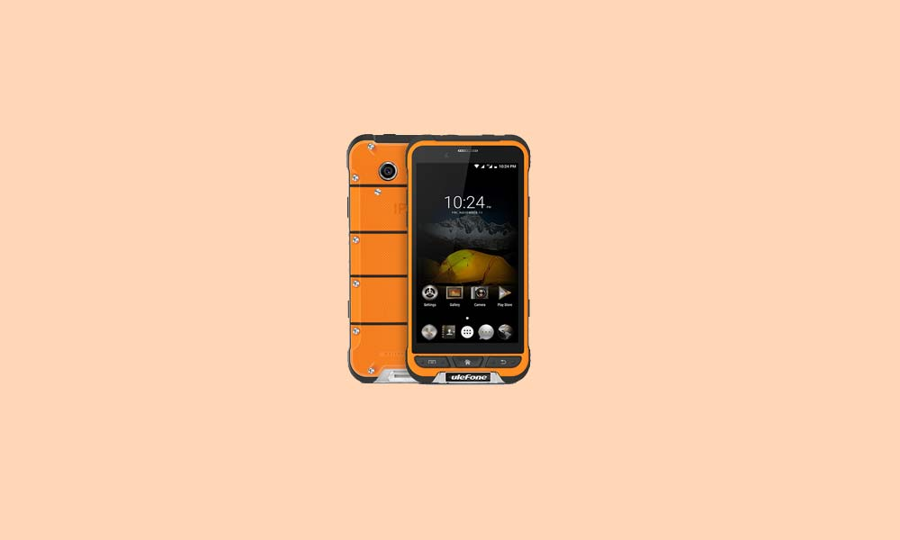 ByPass FRP lock or Remove Google Account on Ulefone Armor