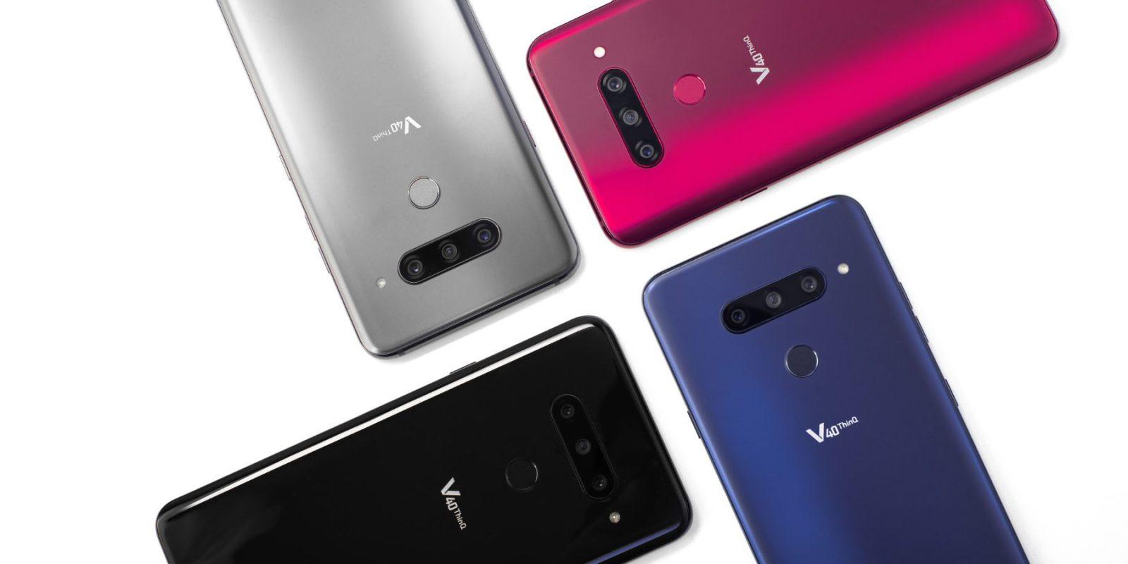 LG V40 ThinQ presentado oficialmente con un total de cinco cámaras