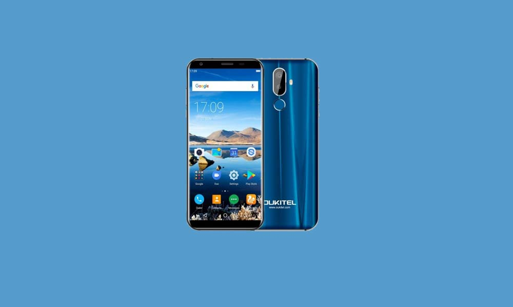 ByPass FRP lock or Remove Google Account on Oukitel K5