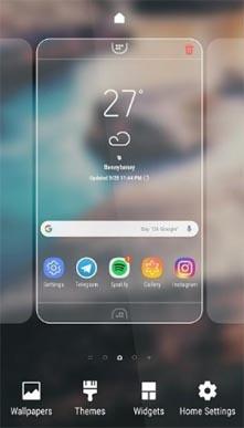 Tema Samsung Experience 10 para Galaxy S9, S8 y Note 9
