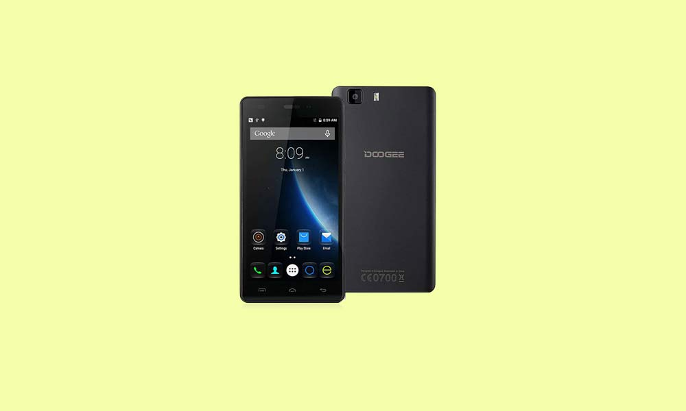 ByPass FRP lock or Remove Google Account on Doogee X5