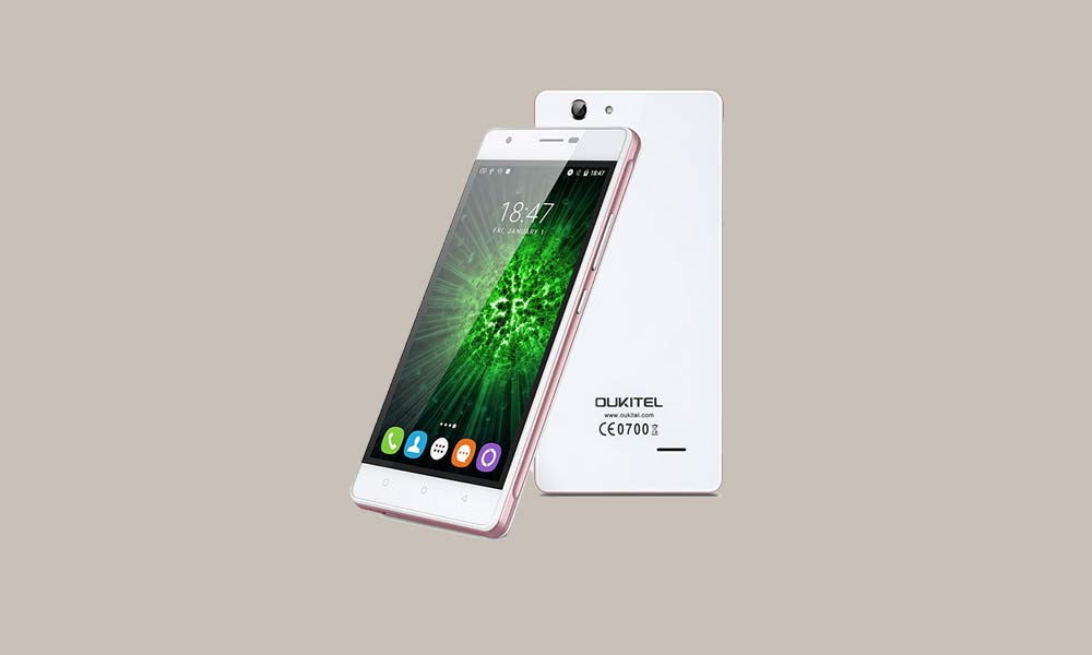 ByPass FRP lock or Remove Google Account on Oukitel C4