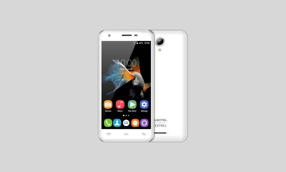 ByPass FRP lock or Remove Google Account on Oukitel C2
