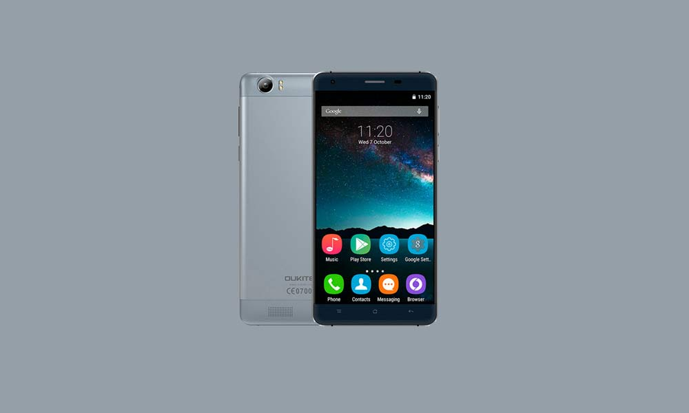 ByPass FRP lock or Remove Google Account on Oukitel K6000