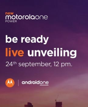 Hoy es el evento de lanzamiento de Motorola One Power Indian: How To Watch.